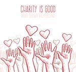 爱心慈善海报