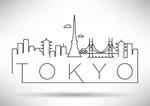 东京线条剪影