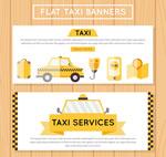 出租车元素banne