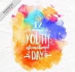 国际青年节贺卡