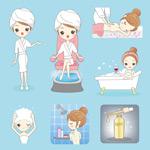 女孩个人卫生护理