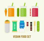 扁平化素食食品