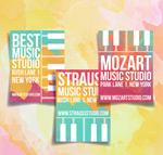音乐工作室宣传单