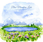 布卢芒廷湖风景
