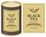 黑茶包装标签