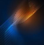 网状波浪科技背景