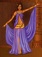 古埃及跳舞女性