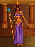 古埃及权杖女人
