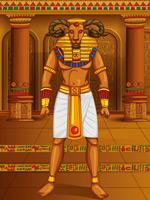埃及山羊形象怪兽
