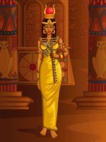 埃及宫殿女皇