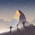 徒步攀登旅行者