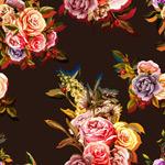 水彩手绘玫瑰花