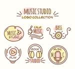 音乐工作室标志