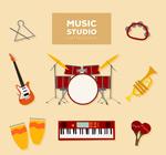 音乐工作室乐器