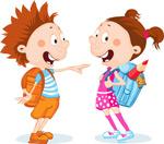 卡通可爱动漫儿童