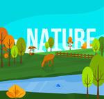 自然风景矢量