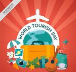 世界旅行日贺卡
