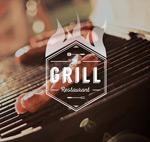 创意烧烤食物海报