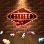 赌场霓虹灯招牌