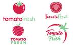 番茄标志模板