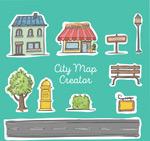 街道地图元素