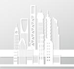 摩天大厦剪贴画