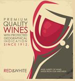 优质葡萄酒海报