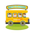 返校学生的校车