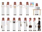 阿拉伯人职场人物