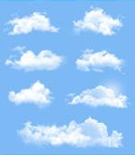 天空上的云朵