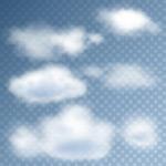 多款白色云朵