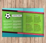 足球运动折页