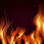 燃烧的火焰边框