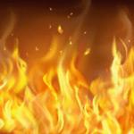 燃烧的火焰背景