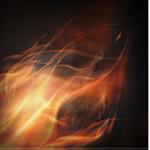 动感火焰背景