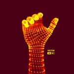 3D发光粒子手势