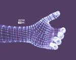 粒子3D手臂手势