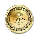 VIP徽章矢量