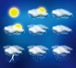 多款天气图标