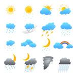 天气气象图标
