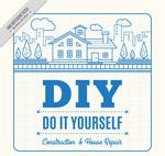 DIY房屋海报