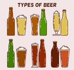 彩绘啤酒设计