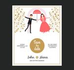 新娘婚礼邀请卡