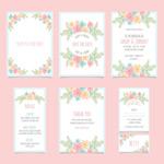 素雅花卉卡片