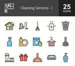 清洁元素图标