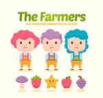卡通农场游戏人物