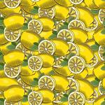 柠檬无缝背景