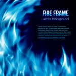 火焰框架背景