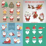 圣诞老人卡通图集