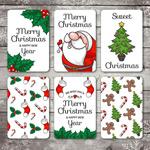圣诞新年主题卡片